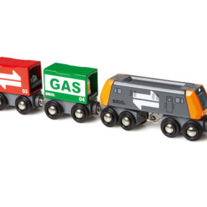 BRIO Rahtijuna: veturi ja 2 vaunua