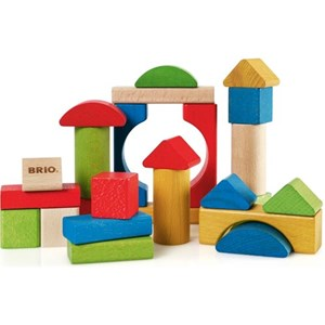 BRIO BRIO Baby - 30114 25 Coloured Blocks 12 - 24 months
