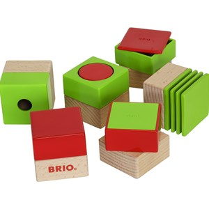 BRIO BRIO Baby - 30436 Sensory Blocks 12 months - 3 years