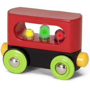 BRIO BRIO My First Railway - 33708 Light up Wagon 24 months - 7 years