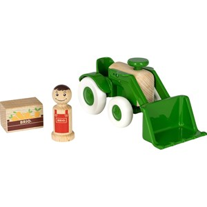 BRIO BRIO My Home Town - 30307 Tractor with Loader 24 months - 5 years