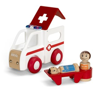 BRIO BRIO My Home Town - 30381 Light and Sound Ambulance 12 months - 8 years