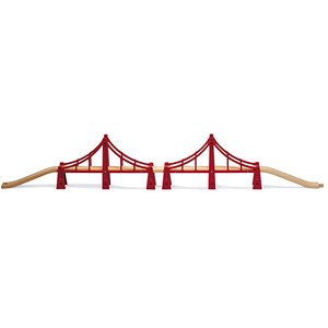 BRIO BRIO World - 33683 Double Suspension Bridge 3 - 6 years