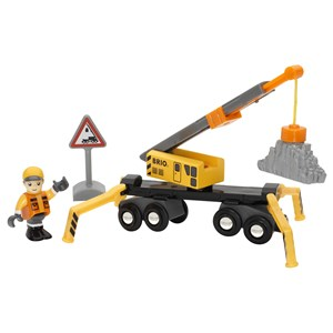 BRIO BRIO World - 33734 Mega Crane & Load Kit 3 - 8 years