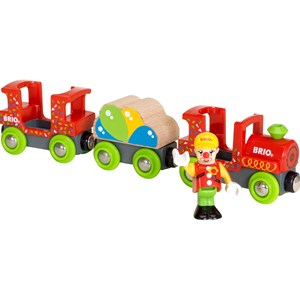 BRIO BRIO World - 33756 Fun Park Clown Train 3 - 7 years