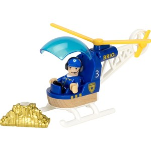 BRIO BRIO World - 33828 Police Helicopter 3 - 7 years