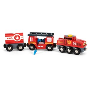 BRIO BRIO World - 33844 Rescue Firefighting Train 3 - 7 years