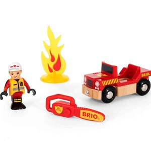 BRIO BRIO World - 33876 Firefighter Play Kit 3 - 8 years