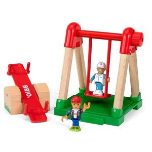 BRIO BRIO World - 33948 Village Playground 3 - 7 years