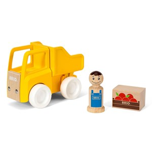 BRIO BRIO My Home Town - 30373 Dump Truck and Load 24 months - 3 years