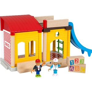 BRIO BRIO World - 33943 Village School Playset 3 - 7 years