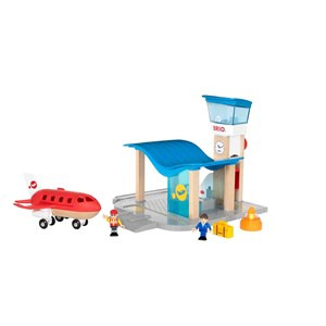 BRIO BRIO World - 33883 Airport with Control Tower 3 - 8 years