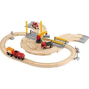 BRIO BRIO® World - 33208 Rail & Road Crane Set 3 - 6 years