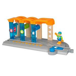 BRIO BRIO World - 33874 Smart Tech Washing Station