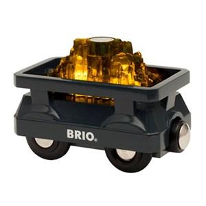 BRIO BRIO® World 33896 ? Light Up Gold Wagon 3 - 8 years