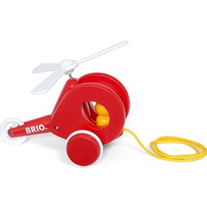 BRIO BRIO Baby - 30227 Pull Along Helicopter 12 - 24 months