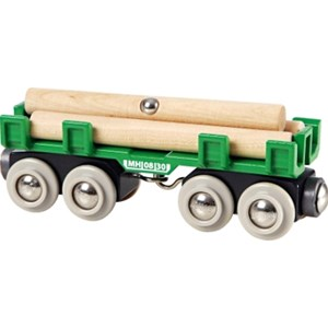 BRIO BRIO World - 33696 Lumber Loading Wagon 3 - 6 years