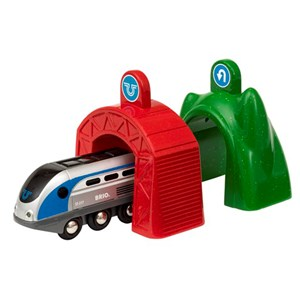 BRIO BRIO World - 33834 Smart Tech Engine with Action Tunnels